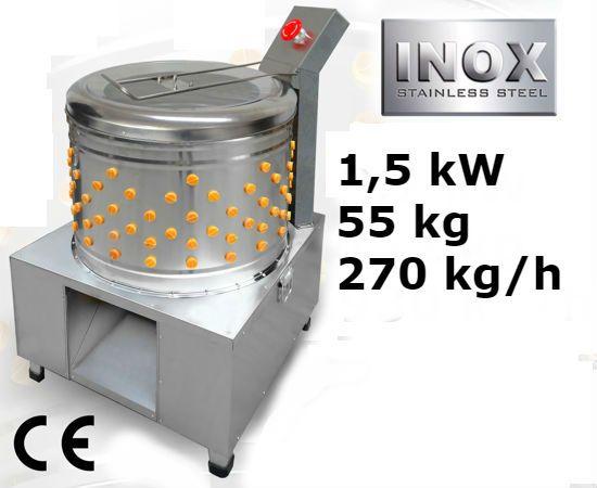 Šklbačka hydiny 270 kg/h