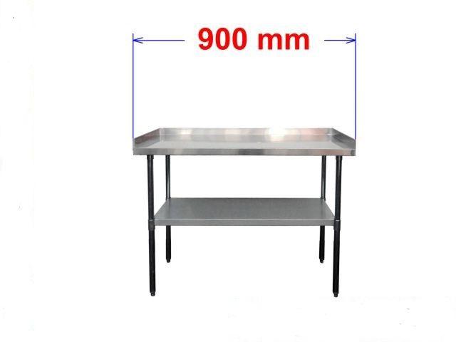 Pracovní nerezový stôl S3R90/60