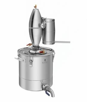 4- stupňový destilačný prístroj 30 L