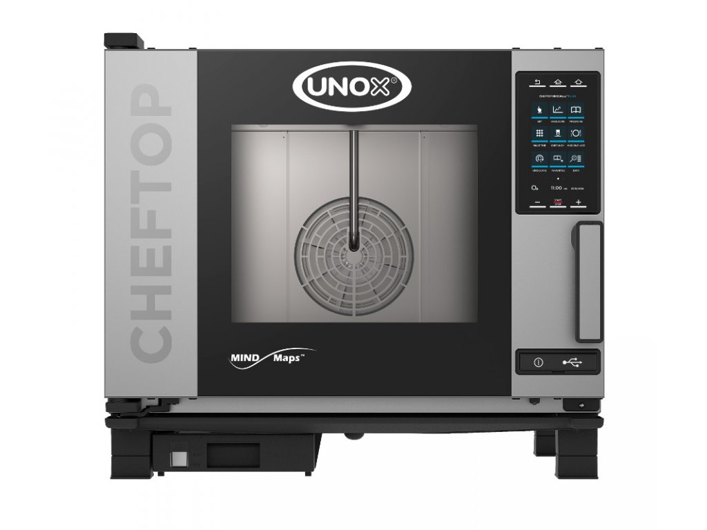 Plynový konvektomat UNOX CHEFTOP MIND. MAPS - PLUS (5 GN 1/1)